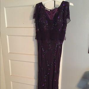 Scalia 100%Silk long dress